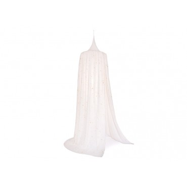 Ciel de lit Amour - Gold stella White