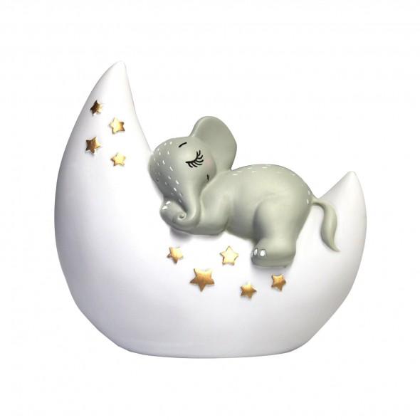 Veilleuse rechargeable - Eléphant & Moon