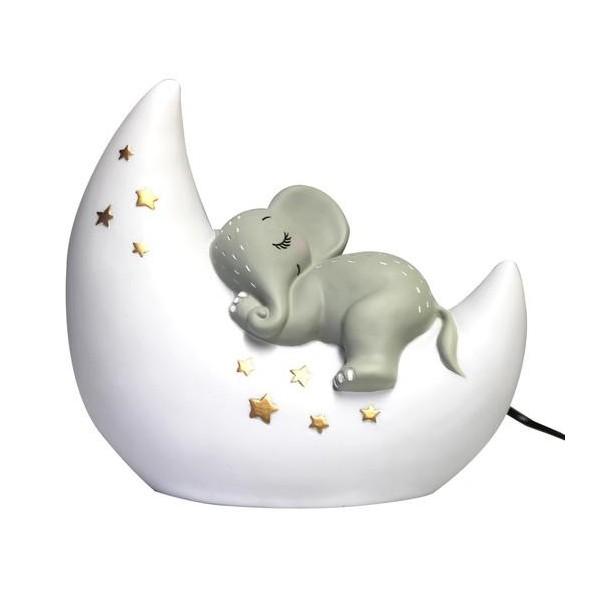 Lampe à poser  - Elephant & Moon