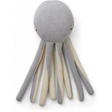 Pieuvre tricotée Helmer - Grey