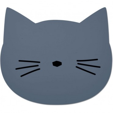 Set de table Aura - Cat (blue wave)