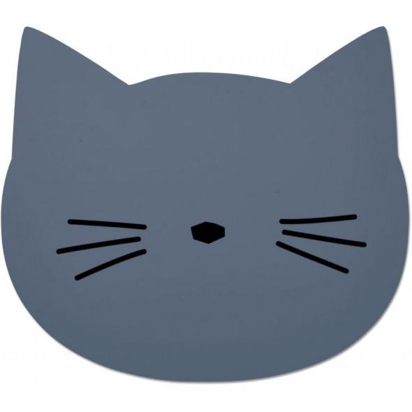 Set de table Aura - Cat (blue wave)