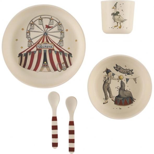 Set de vaisselle - Circus