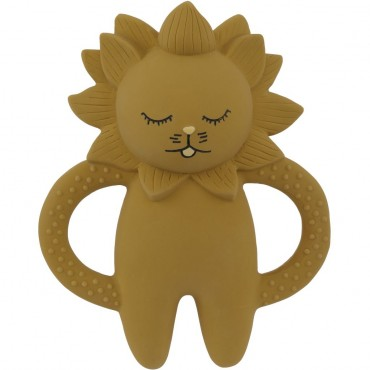 Anneau de dentition Lion - Moutarde