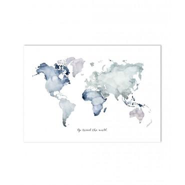 Affiche - Go Travel The World