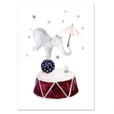 Affiche - Dancing Elephant