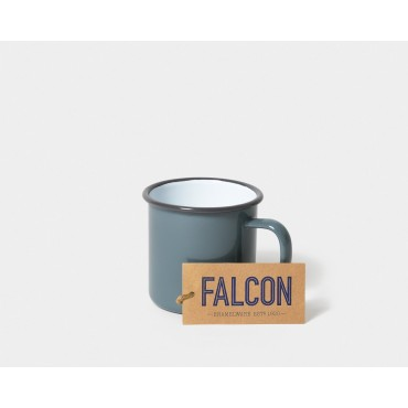 Mug en émail - Pigeon grey