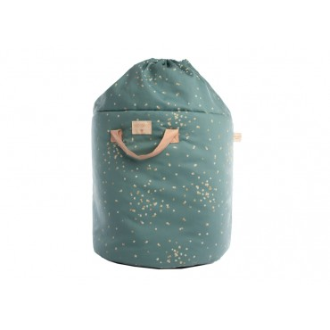 Sac à jouets Bamboo - Confetti magic green
