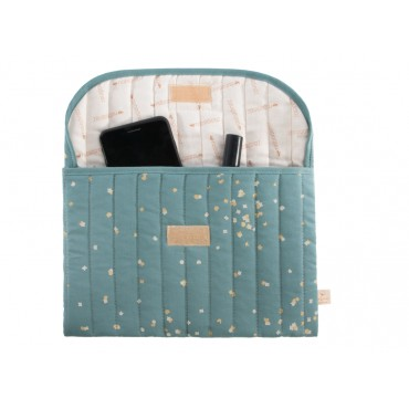 Pochette de rangement Bagatelle - Confetti magic green