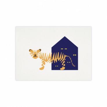 Affiche - Tigre
