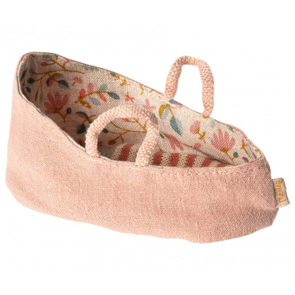 Couffin pour bébé souris (MY) - Misty rose