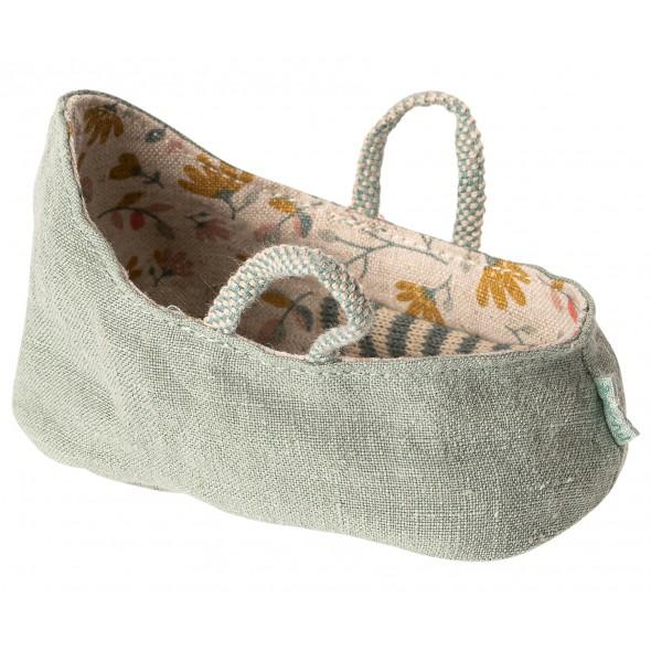 Couffin pour bébé souris (MY) - Dusty green