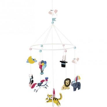 Mobile Circus par Michelle Carlslund (grand modèle)