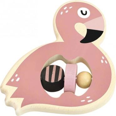 Hochet Flamingo par Michèle Carslund