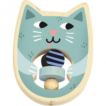 Hochet Cat par Michèle Carslund