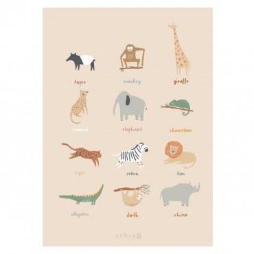 Poster - Wildlife (50x70 cm)