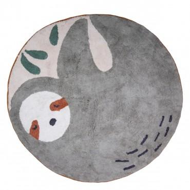 Tapis en coton - Lacey le paresseux