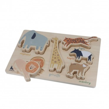 Puzzle en bois  - Wildlife