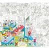 Poster géant à colorier - Music