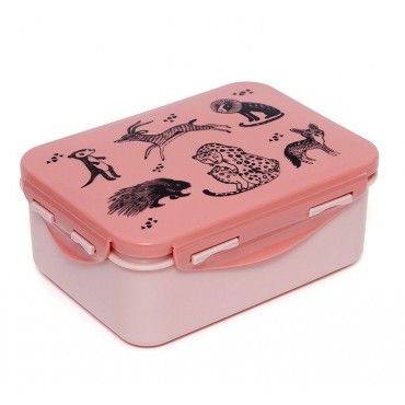 Lunch box - Black animals