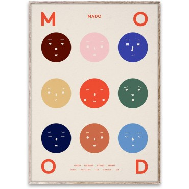 Poster 9 Moods (50x70 cm)