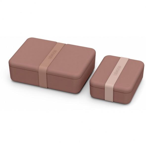 Lunch box Bradley - Dark rose