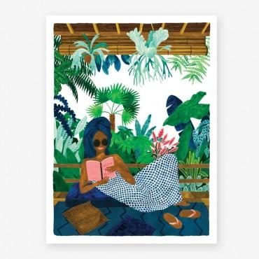 Affiche - Chill book