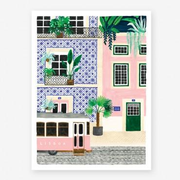 Affiche - Lisboa