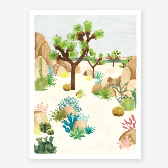 Affiche - Joshua Tree
