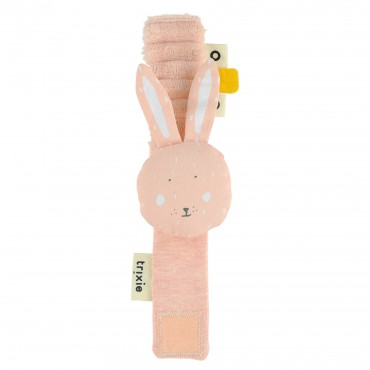 Hochet bracelet - Mrs Rabbit