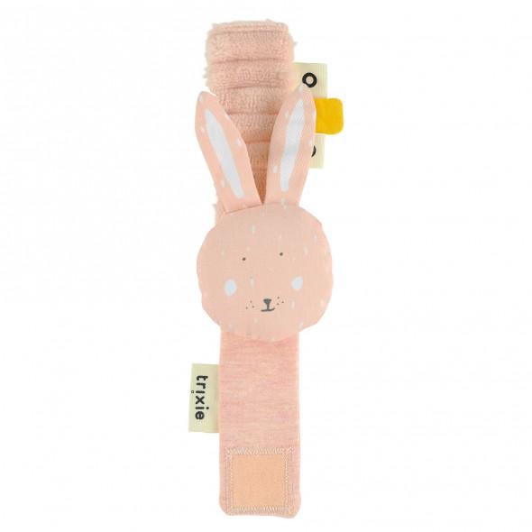 Hochet bracelet - Mrs Rabbit