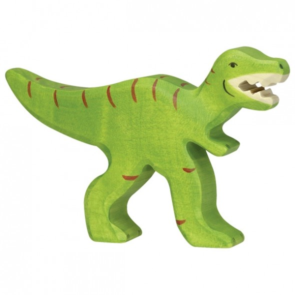 Animal en bois - Tyrannosaure