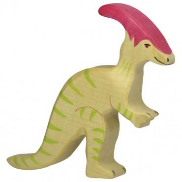 Animal en bois - Parasaurolophus