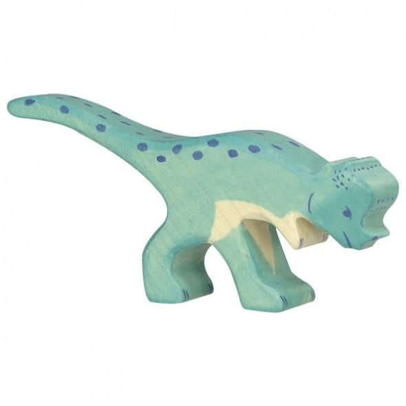 Animal en bois - Pachycephalosaurus