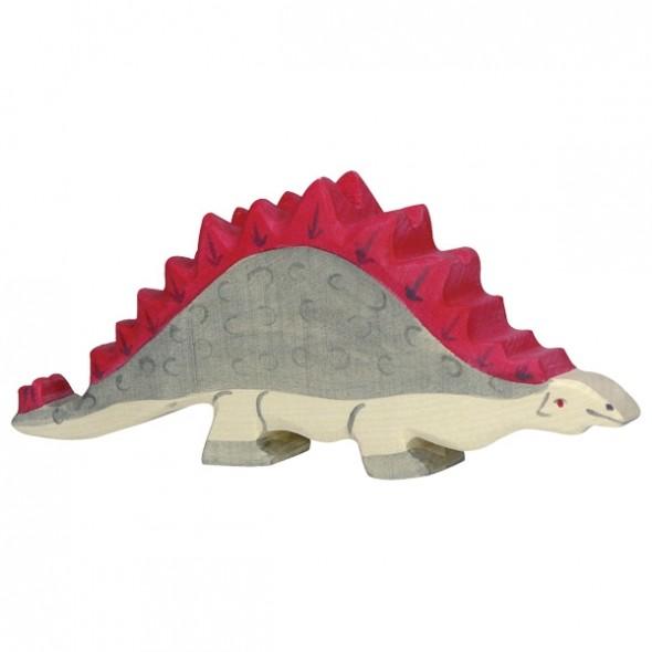 Animal en bois - Stégosaure