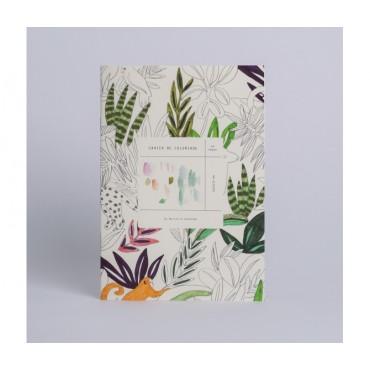 Cahier de coloriage - Les animaux