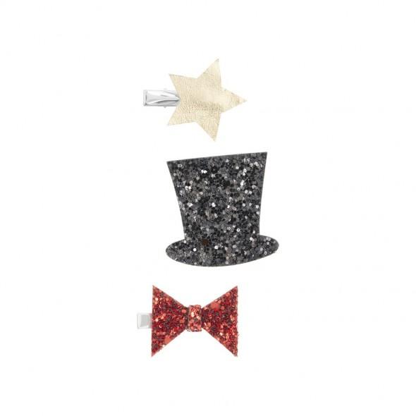 3 barrettes clip - Cirque