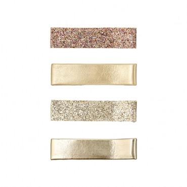4 barrettes scintillantes - Edie