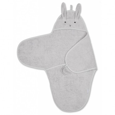 Cape de bain Nomi - Rabbit (dumbo grey)