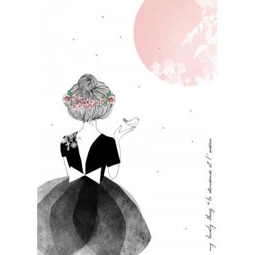 Affiche La Danseuse & L'oiseau
