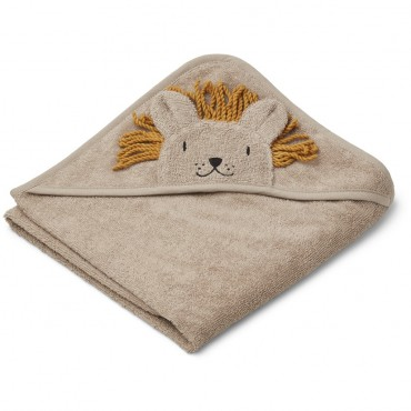 Sortie de bain Albert - Lion (stone beige)