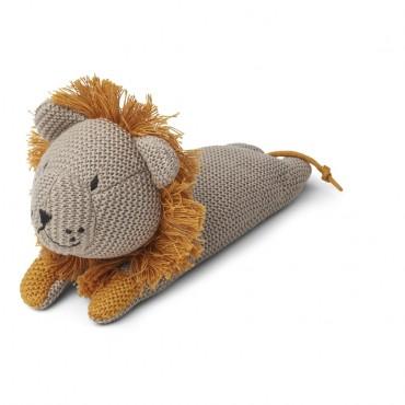 Peluche tricotée - Lion (beige)