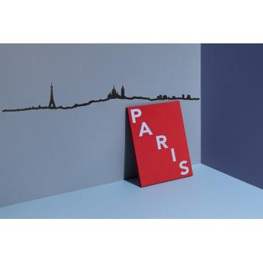 Décoration murale - Paris  (métal noir)