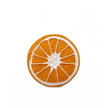 Jouet en latex  - Clementino l'orange