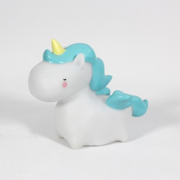 Petite Veilleuse - Unicorn (bleu)