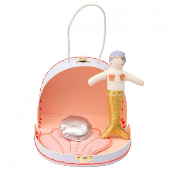 Mini valise - Maison de Sophia la sirène