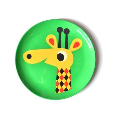 Assiette par Ingela P. Arrhenius - Girafe