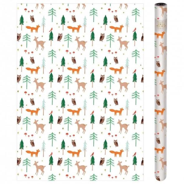 Rouleau de papier cadeau - Woodland