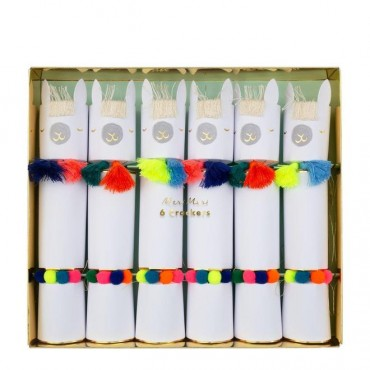 Lot de 6 crackers - Lamas