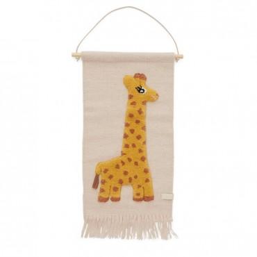 Tenture murale - Girafe